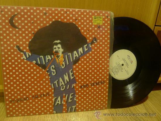 KIKO VENENO LP VINILO PEQUEÑO SALVAJE (Música - Discos de Vinilo - Maxi Singles - Grupos Españoles de los 70 y 80)