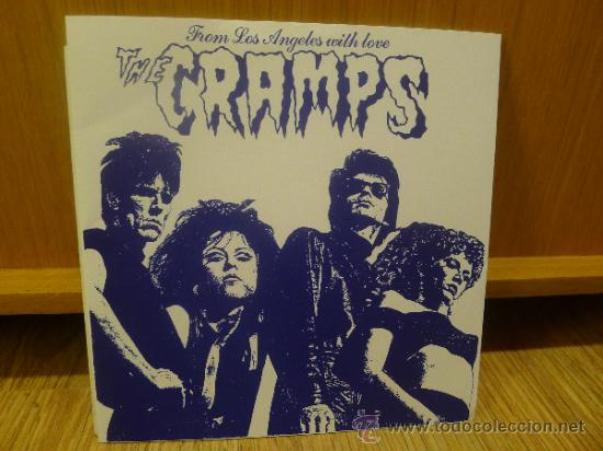THE CRAMPS FROM LOS ANGELES WITH LOVE EP MUYA RARO GARAJE PUNK SURF (Música - Discos de Vinilo - EPs - Pop - Rock - New Wave Extranjero de los 80)