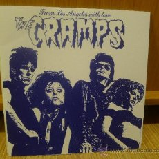 Dischi in vinile: THE CRAMPS FROM LOS ANGELES WITH LOVE EP MUYA RARO GARAJE PUNK SURF. Lote 33449551