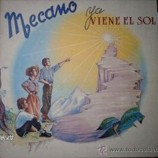 Discos de vinilo: MECANO YA VIENE EL SOL . Lote 33455886
