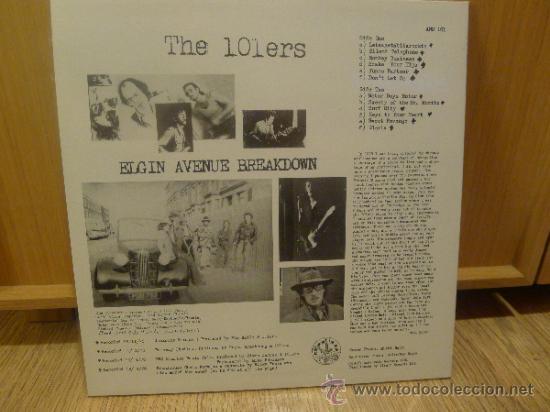 Discos de vinilo: The 101ers Elgin avenue breakdown lp Vinilo Joe Strummer Pre The Clash Punk Sex pistols - Foto 2 - 33448591
