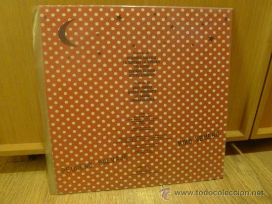 Discos de vinilo: Kiko veneno lp vinilo Pequeño salvaje - Foto 3 - 33448461