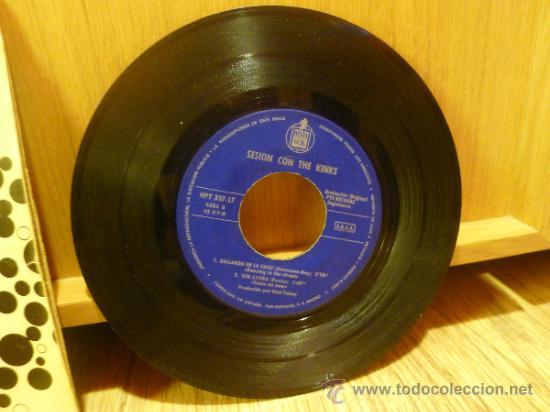Discos de vinilo: The Kinks Sesion con Ep SIngle Vinilo Original - Foto 6 - 33449443