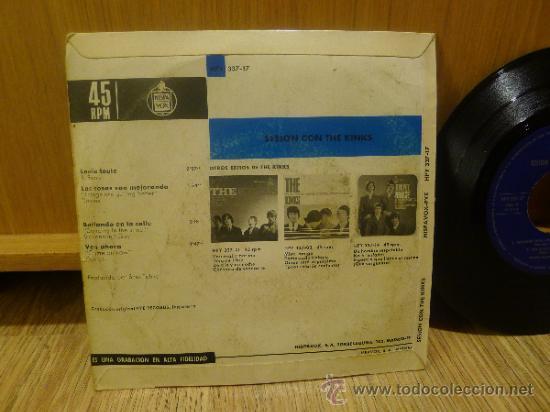 Discos de vinilo: The Kinks Sesion con Ep SIngle Vinilo Original - Foto 4 - 33449443