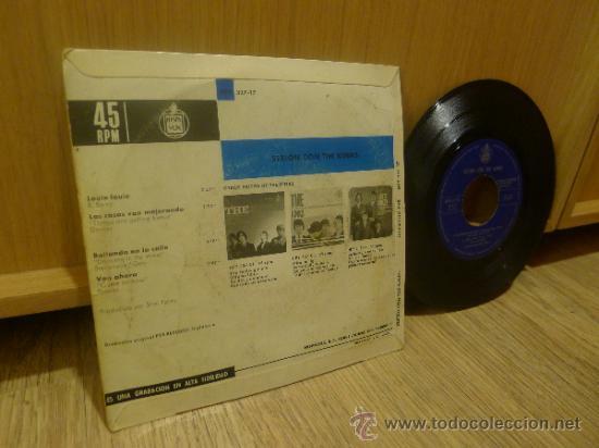 Discos de vinilo: The Kinks Sesion con Ep SIngle Vinilo Original - Foto 3 - 33449443