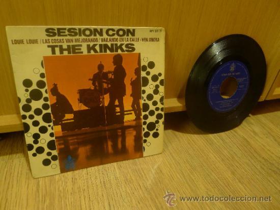 Discos de vinilo: The Kinks Sesion con Ep SIngle Vinilo Original - Foto 2 - 33449443