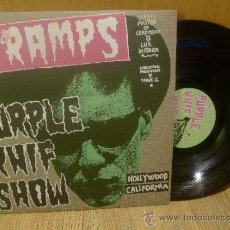 Discos de vinilo: RADIO CRAMPS THE PURPLE KNIF SHOW 2LP VINILO TRASHMEN LINK WRAY GARAJE PUNK ROCK AND ROLL . Lote 33450424