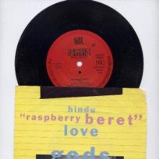 Discos de vinilo: HINDU LOVE GODS. R.E.M. ALEMAN 45 R.P.M. RASPBERRY BERET ( PRINCE)+EANG DANG DOODLE.GIANT 1990. Lote 33453061