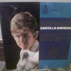 Discos de vinilo: RAPHAEL - CANTA LA NAVIDAD, LA CANCIÓN DEL TAMBORILERO, CAMPANAS DE PLATA, NOCHE DE PAZ, NAVIDADES... Lote 33460361