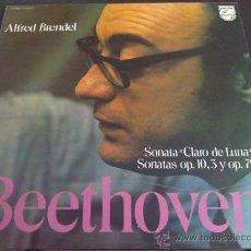 Discos de vinilo: BEETHOVEN, SONATAS - PIANO: ALFRED BRENDEL. Lote 33461595