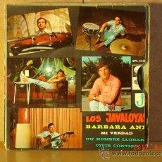 Discos de vinilo: LOS JAVALOYAS - LOTE DE 5 SINGLE Y EP. Lote 38160053
