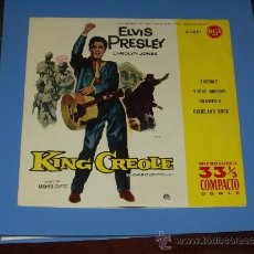 Discos de vinilo: ELVIS PRESLEY EP TROUBLE+3 SPANISH YEAR 61 VERY RARE. Lote 33470309