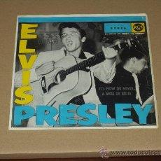 Discos de vinilo: ELVIS PRESLEY SINGLE IT'S NOW OR NEVER SPANISH YEAR 60 VERY RARE. Lote 33470377