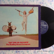 Discos de vinilo: LP-THE ROLLING STONES IN CONCERT-GET YER YA-YA'S OUT'. Lote 33472270