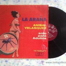 Discos de vinilo: LP-ANIBAL VELASQUEZ-LA ARAÑA. Lote 33474004
