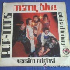 Discos de vinilo: POP TOPS MAMY BLUE. Lote 33479488