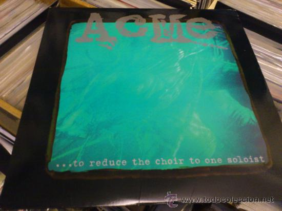 ACME ... TO REDUCE THE CHOIR TO LP VINILO METAL HARDCORE EMO SCREAMO (Música - Discos - LP Vinilo - Punk - Hard Core)