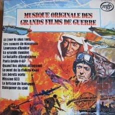 Dischi in vinile: LP - GEOFF LOVE Y SU ORQUESTA-MUSICA ORIGINAL DE GRANDES PELICULAS DE GUERRA (FRANCE, MFP SIN FECHA). Lote 33488900