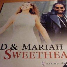 Discos de vinilo: JD & MARIAH CAREY ( SWEETHEART) 12 INCH MAXI ( VIN5). Lote 33488954
