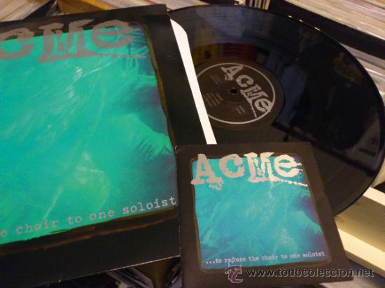 Discos de vinilo: ACME ... to reduce the choir to lp vinilo Metal Hardcore Emo Screamo - Foto 3 - 33484685