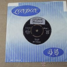 Disques de vinyle: ROY ORBISON FALLIN + DISTANT DRUMS ORIGINAL LONDON MONUMENT 1963. Lote 33494841