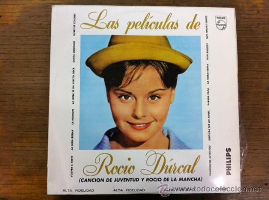 LAS PELÍCULAS DE ROCÍO DURCAL. LP VENEZUELA (Música - Discos - LP Vinilo - Solistas Españoles de los 50 y 60)