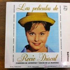 Discos de vinilo: LAS PELÍCULAS DE ROCÍO DURCAL. LP VENEZUELA. Lote 33495352