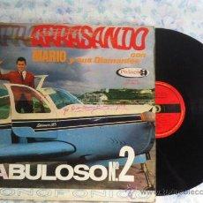 Discos de vinilo: LP-MARIO Y SUS DIAMANTES-ARRASANDO VOL II. Lote 33502588