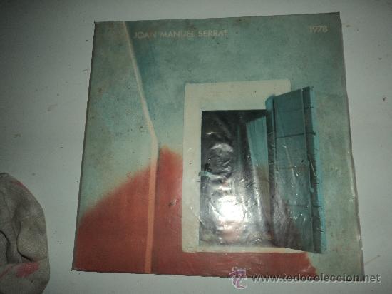 JOAN MANUEL SERRAT. 1978. (Música - Discos de Vinilo - Maxi Singles - Solistas Españoles de los 70 a la actualidad)