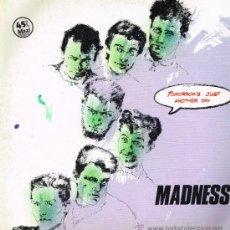 Discos de vinilo: MADNESS - TOMORROW'S (2 VERSIONES) / BLUE BEAST / MADNESS - MAXISINGLE 1983. Lote 33512415