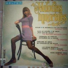 Discos de vinilo: MELODIAS INMORTALES LOS MAYAS, RAY MARTIN, LOS WAIKIKIS..... Lote 33521087