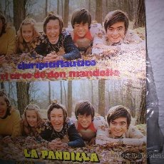 Discos de vinilo: LA PANDILLA: CHIRIPITIFLAUTICO + EL CIRCO DE DON MANDOLIO . Lote 33511449