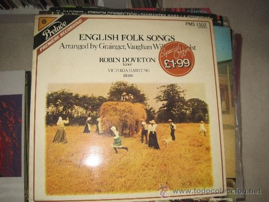 ROBIN DOVETON - ENGLISH FOLK SONG (Música - Discos - LP Vinilo - Country y Folk)