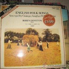 Discos de vinilo: ROBIN DOVETON - ENGLISH FOLK SONG. Lote 33518208