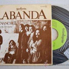 Discos de vinilo: LABANDA - PAVANANCHEL (DE DIA DE NOCHE) (GUIMBARDA SINGLE 1979) ESPAÑA. Lote 33526418