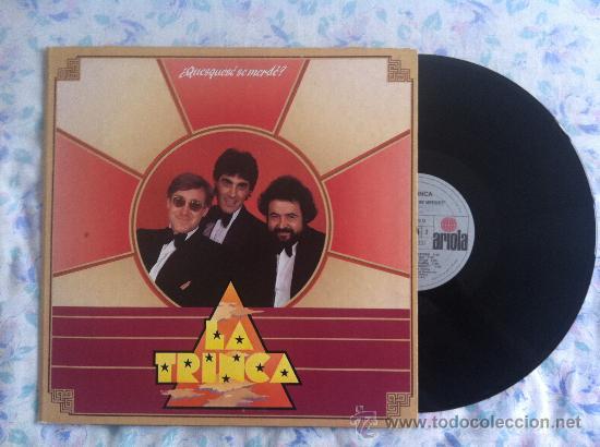 LP-LA TRINCA-QUESQUESE SE MERDE (Música - Discos - LP Vinilo - Grupos Españoles de los 70 y 80)