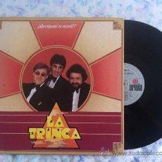 Discos de vinilo: LP-LA TRINCA-QUESQUESE SE MERDE. Lote 33529110
