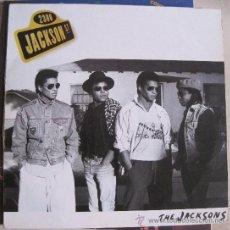 Discos de vinil: THE JACKSONS (2300 JACKSON STREET) EDICION ESPAÑOLA 1989 (MICHAEL JACKSON). Lote 33530490