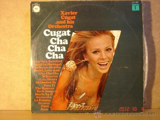 XAVIER CUGAT AND HIS ORCHESTRA - CUGAT CHA CHA CHA - CBS 52372 - 1967 (Música - Discos - LP Vinilo - Orquestas)
