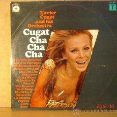 Discos de vinilo: XAVIER CUGAT AND HIS ORCHESTRA - CUGAT CHA CHA CHA - CBS 52372 - 1967. Lote 33531126