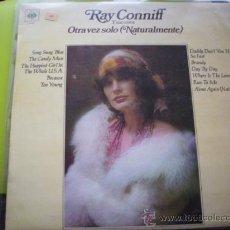 Discos de vinilo: LP - RAY CONNIFF Y SUS COROS - OTRA VEZ SOLO - ORIGINAL ESPAÑOL, CBS 1972 PEPETO. Lote 33535545