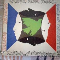 Discos de vinilo: EULOGIO DAVALOS - MIGUEL ANGEL CHERUBITO MUSICA PARA TODOS. Lote 33547730