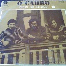 Discos de vinilo: O CARRO, BRILO DE ANXOS - LP VINILO. Lote 33534368