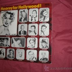 Discos de vinilo: MARILYN MONROE-ROGERS-DIETRICH-MARX LP HOORAY FOR HOLLYWOOD RCA ENGLAND VER FOTO ADICIONAL. Lote 33546372