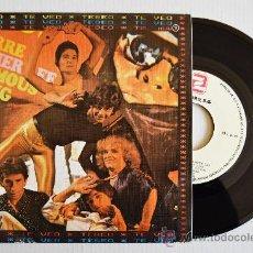 Discos de vinilo: TEBEO - TE VEO/QUE HA SIDO DE NUESTRO AMOR (ZAFIRO SINGLE 1980) ESPAÑA. Lote 33551809