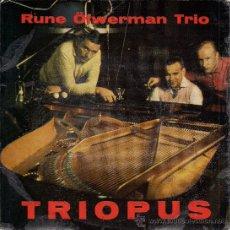 Discos de vinilo: RUNE ÖFWERMAN TRIO: TRIOPUS EP 45 RPM, GAZELL (SWEDEN). Lote 33554063