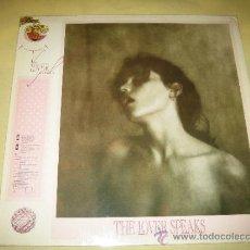 Discos de vinilo: THE LOVER SPEAKS - 1986. Lote 33554643