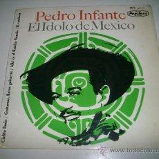 Discos de vinilo: PEDRO INFANTE EL IDOLO DE MEXICO CIELITO LINDO (1964 HISPAVOX ESPAÑA). Lote 33559622