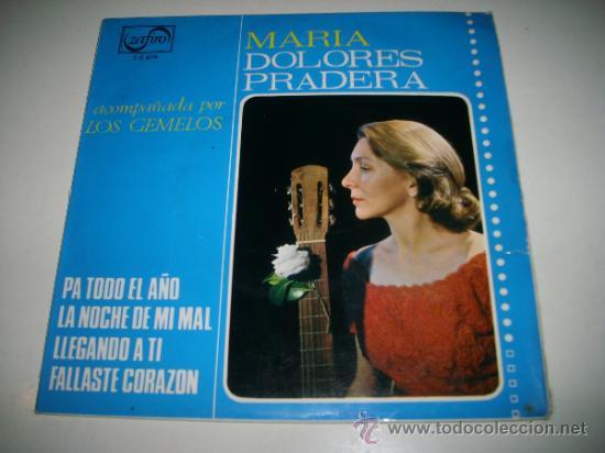 MARIA DOLORES PRADERA CON LOS GEMELOS (1965 ZAFIRO ESPAÑA) PA TODO EL AÑO (Música - Discos de Vinilo - EPs - Flamenco, Canción española y Cuplé)