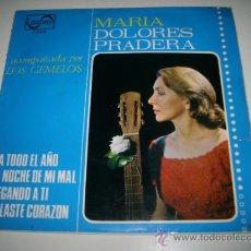 Discos de vinilo: MARIA DOLORES PRADERA CON LOS GEMELOS (1965 ZAFIRO ESPAÑA) PA TODO EL AÑO. Lote 33559727